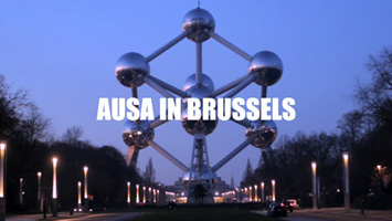 Vídeo de producte industrial. Atomium de Brusseles